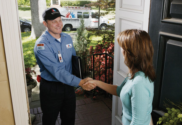 in-home estimate from Gordon's Service Experts Heating & Air Conditioning
